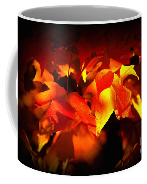 Fall Coffee Mug featuring the photograph Indian Summer Sparkle by Susanne Van Hulst