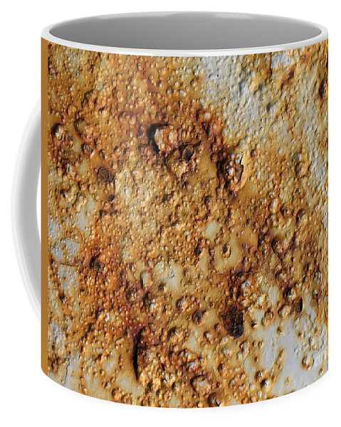 Industrial Coffee Mug featuring the photograph Industrial Corrosion by Yali Shi