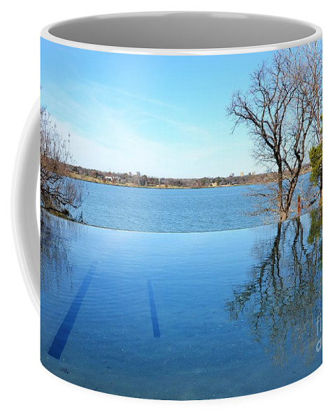 Water Coffee Mug featuring the photograph Infinity by Debbi Granruth