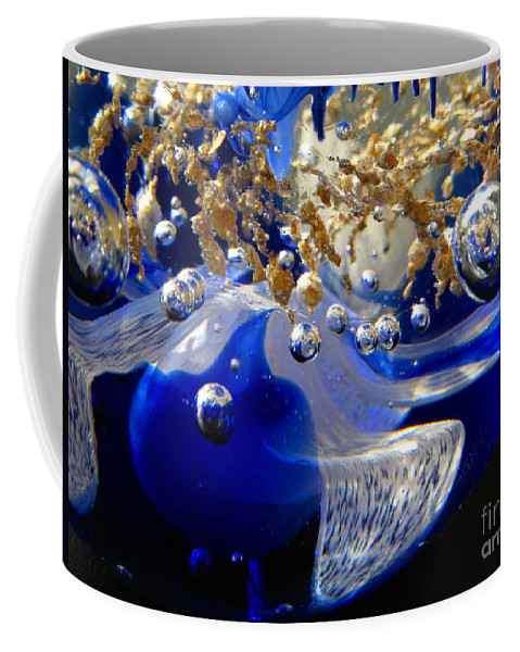World Coffee Mug featuring the photograph Inside The Crystal 3 by John Chatterley