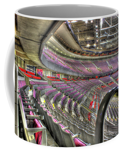 Chevy Bel Air Coffee Mug featuring the photograph Inside The Palace Of Auburn Hills 3 by Nicholas Grunas