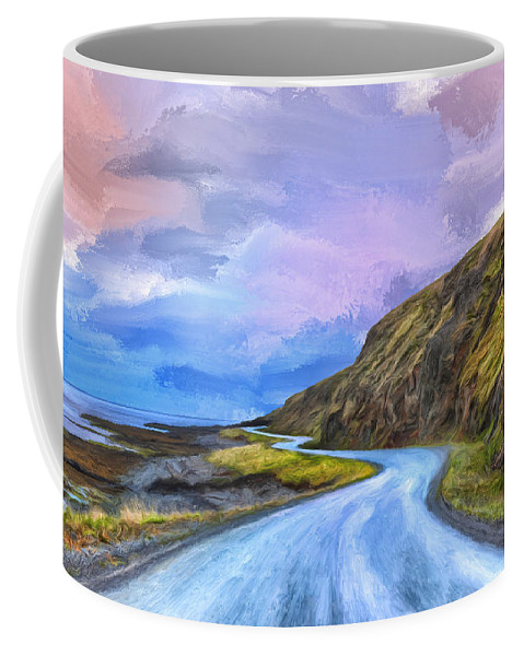 Into The Great Beyond Coffee Mug featuring the painting Into The Great Beyond by Dominic Piperata