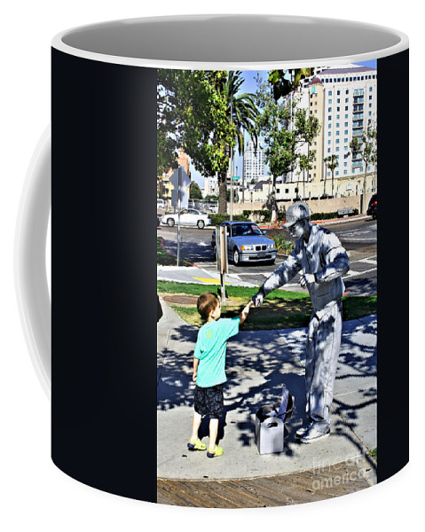 Child Coffee Mug featuring the photograph Intrigue by Tommy Anderson