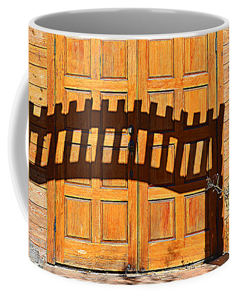 Doors Coffee Mug featuring the photograph Invisable Keyboard by Diane montana Jansson