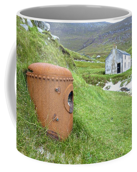 Sony Coffee Mug featuring the photograph Iron Treasures by Charlie and Norma Brock