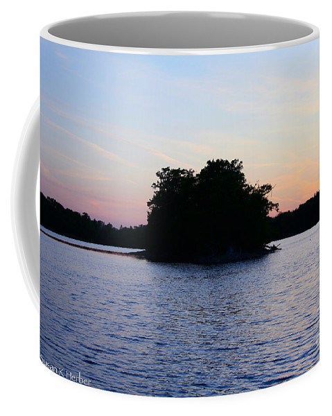 Outdoors Coffee Mug featuring the photograph Island Evening by Susan Herber