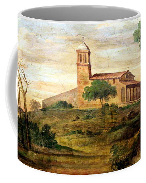 Rome Coffee Mug featuring the photograph Italian Valley by Munir Alawi