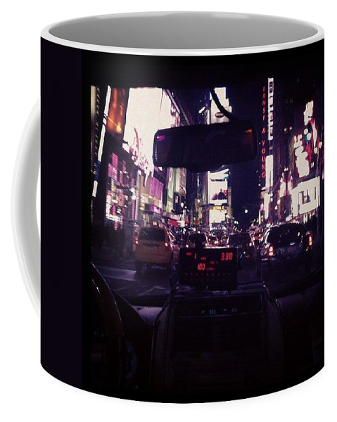 New York Coffee Mug featuring the photograph It's Like You're Right There by Katie Cupcakes