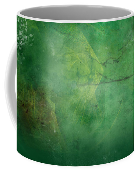 Ivy Coffee Mug featuring the painting Ivy League by Christopher Gaston