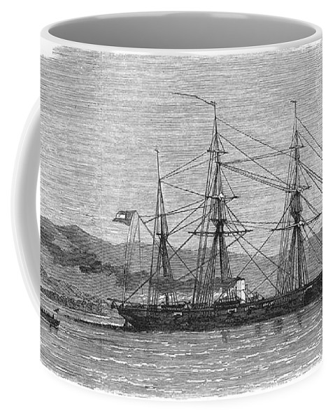 1863 Coffee Mug featuring the photograph Jamaica: Css Alabama, 1863 by Granger