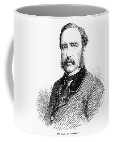 1865 Coffee Mug featuring the photograph James Molyneux Caulfeild by Granger
