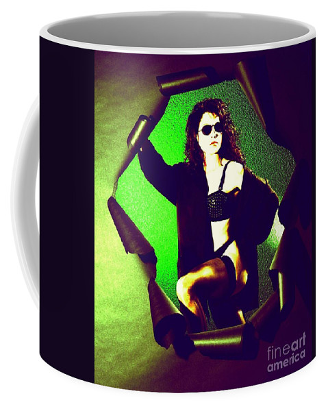 Model Coffee Mug featuring the photograph Jane Joker 2 by Gary Gingrich Galleries