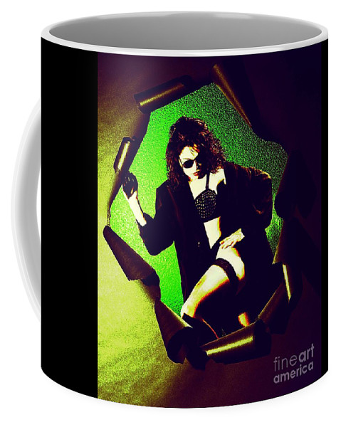 Model Coffee Mug featuring the photograph Jane Joker 3 by Gary Gingrich Galleries