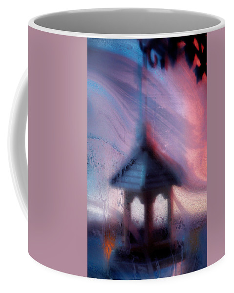 Soft Coffee Mug featuring the photograph January's Window... by Arthur Miller