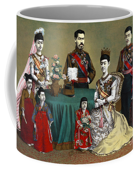 1900 Coffee Mug featuring the photograph Japan: Imperial Family by Granger