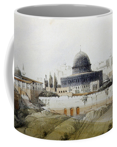 Jerusalem Coffee Mug featuring the photograph Jerusalem Close Up by Munir Alawi