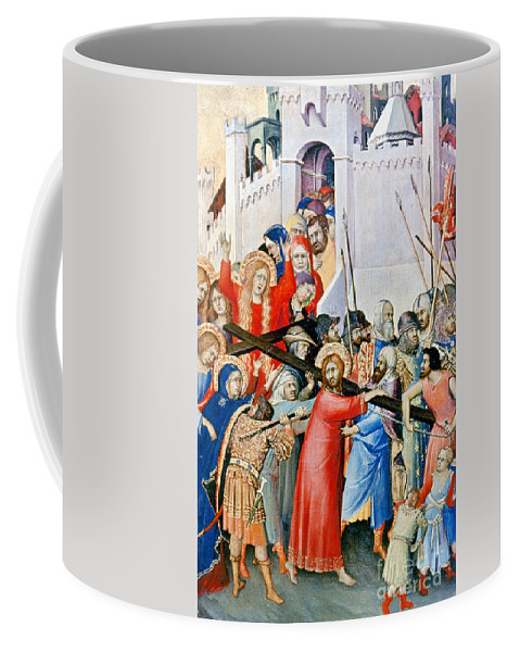 1336 Coffee Mug featuring the photograph Jesus: Calvary by Granger