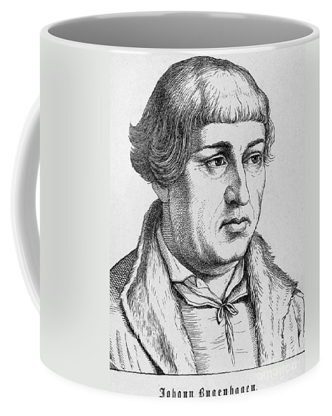 16th Century Coffee Mug featuring the photograph Johannes Bugenhagen by Granger