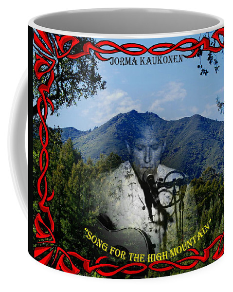 Jorma Kaukonen Coffee Mug featuring the photograph Jorma- Song For The High Mountain by Ben Upham