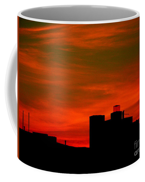 Sunset Coffee Mug featuring the photograph June 2 2009 by Mark Gilman