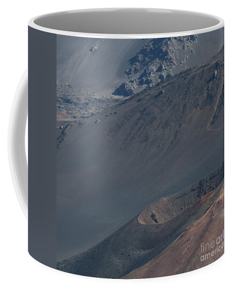 Aloha Coffee Mug featuring the photograph Ka Lua O Ka Oo Haleakala Volcano Maui Hawaii by Sharon Mau