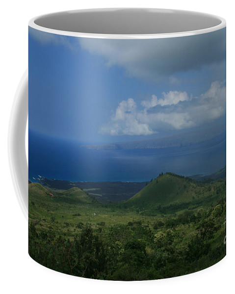 Aloha Coffee Mug featuring the photograph Kanaloa by Sharon Mau