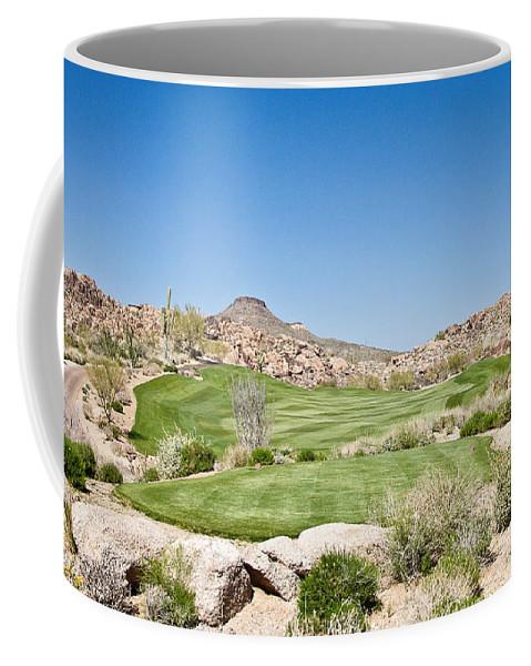 Golf Coffee Mug featuring the photograph Keep It In The Short Grass by Scott Pellegrin
