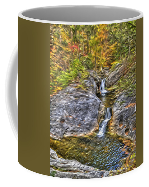 Photography Coffee Mug featuring the photograph Kent Falls by Paul Wear