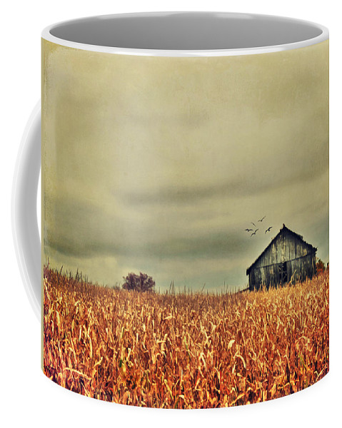 Agricultural Coffee Mug featuring the photograph Kentucky Corn Field by Darren Fisher