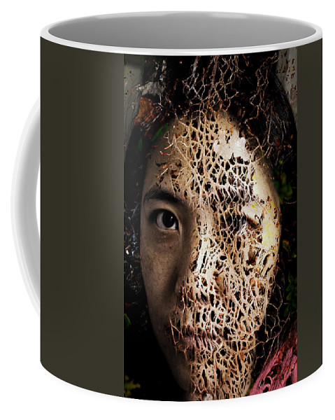 Knit Together Coffee Mug featuring the painting Knit Together by Christopher Gaston