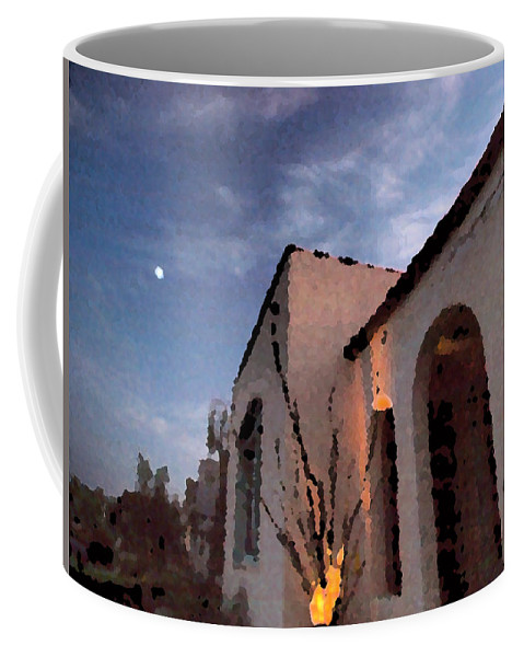 Southwest Coffee Mug featuring the photograph La Casa by Joe Schofield