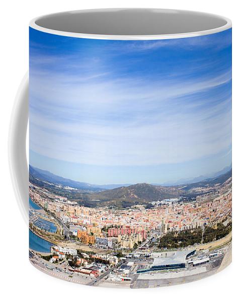 Town Coffee Mug featuring the photograph La Linea De La Concepcion In Spain by Artur Bogacki