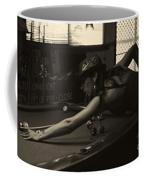 Portrait Coffee Mug featuring the photograph Lady M by Tommy Anderson