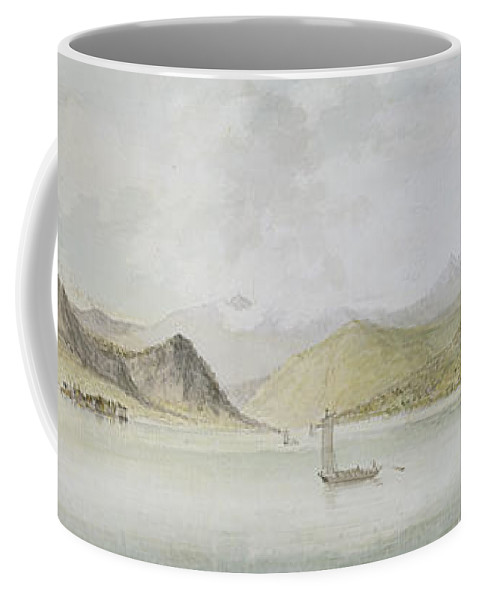 Lago Coffee Mug featuring the painting Lago Maggiore by Charles Gore