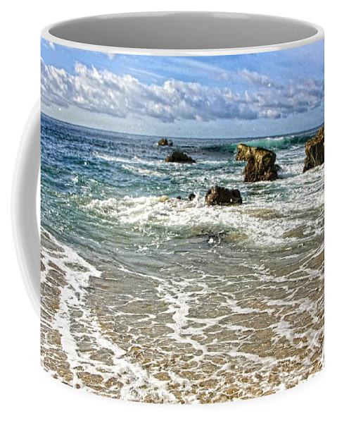 California Coffee Mug featuring the photograph Laguna Beach Coast by Rosanne Nitti