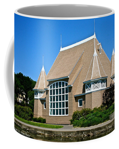 Outdoors Coffee Mug featuring the photograph Lake Harriet Bandshell by Susan Herber
