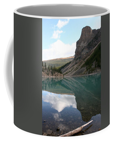 Lake Coffee Mug featuring the photograph Moraine Lake - Lake Louise, Alberta by Ian Mcadie
