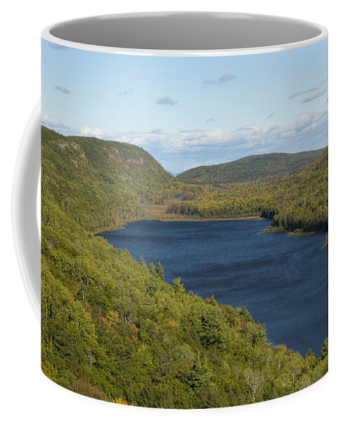 Lake Coffee Mug featuring the photograph Lake Of The Clouds 1 by John Brueske