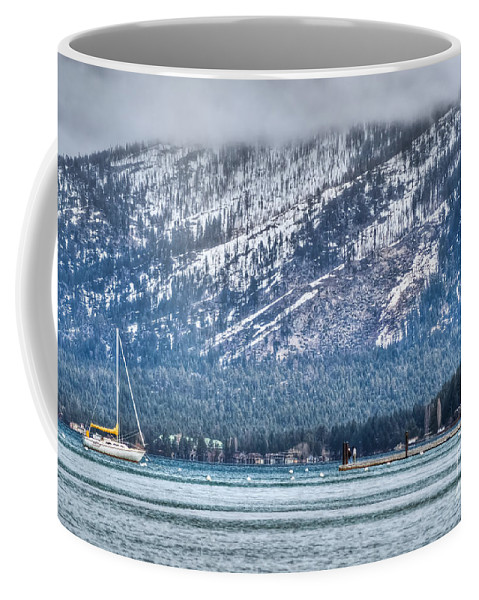 Landscape Coffee Mug featuring the photograph Landscape Lake Tahoe by Diego Re