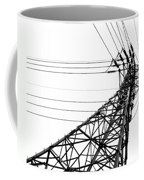 High Coffee Mug featuring the photograph Large Powermast by Yali Shi