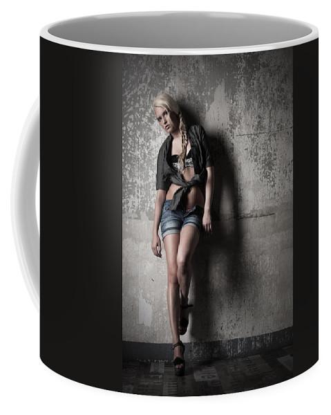 Ralf Coffee Mug featuring the photograph Lean Against The Wall by Ralf Kaiser