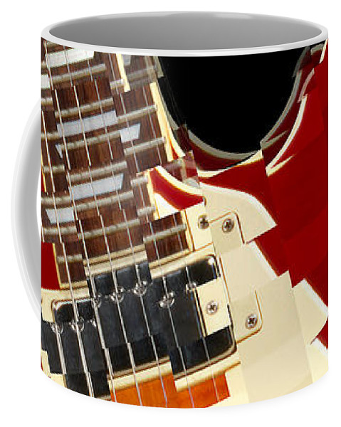 Classic Guitar Coffee Mug featuring the photograph Classic Guitar Abstract by Mike McGlothlen