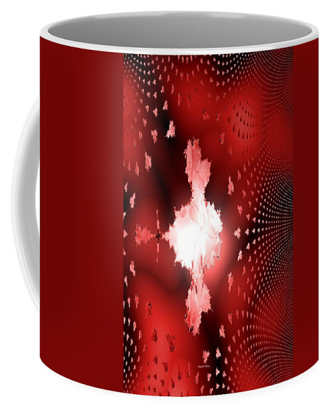 Light Coffee Mug featuring the digital art Let Your Light Shine by Maria Urso