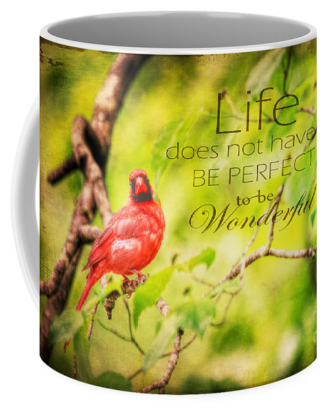Animal Coffee Mug featuring the photograph Life by Darren Fisher