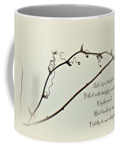 Bramble Coffee Mug featuring the photograph Life Is A Tangle by Mother Nature
