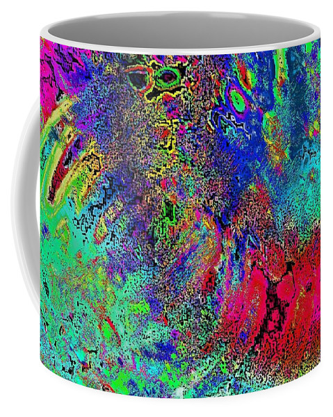 Abstract Coffee Mug featuring the photograph Lifesaver by David Pantuso
