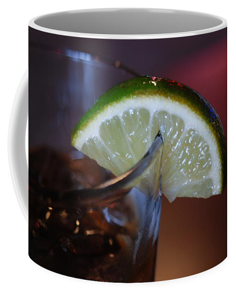Lime Coffee Mug featuring the photograph Lime Time by Michael Merry