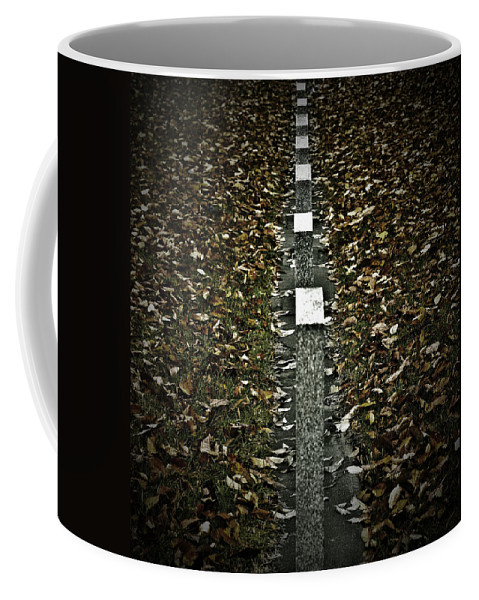Photographer Coffee Mug featuring the photograph Line Of Death by The Artist Project