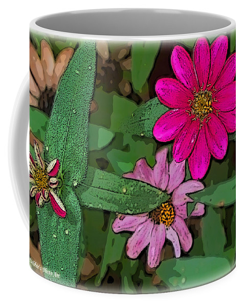 Nature Coffee Mug featuring the photograph Little Pinks by Debbie Portwood