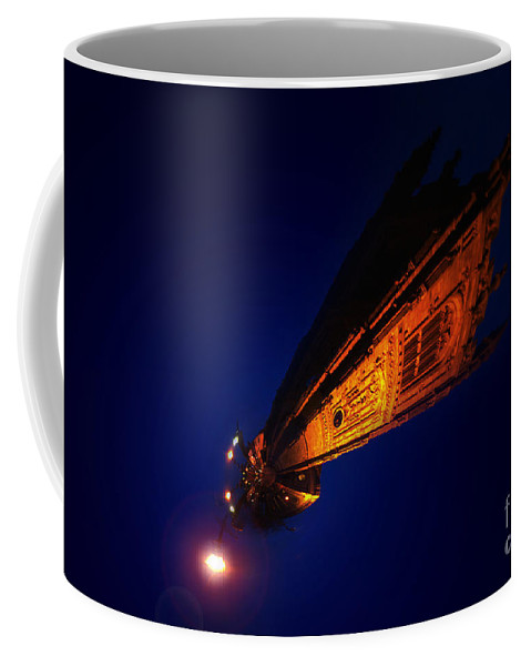 Yhun Suarez Coffee Mug featuring the photograph Little Planet - Derby Cathedral by Yhun Suarez
